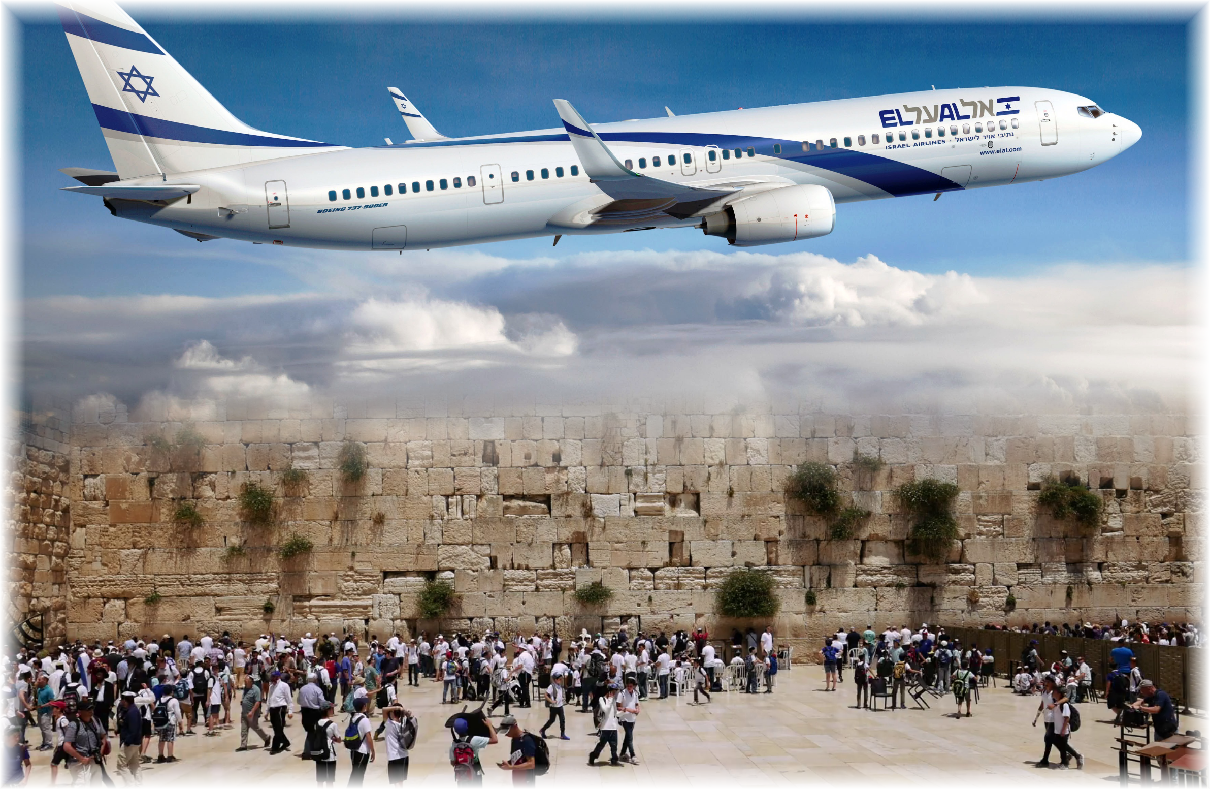 4 Round Trip Tickets to Israel