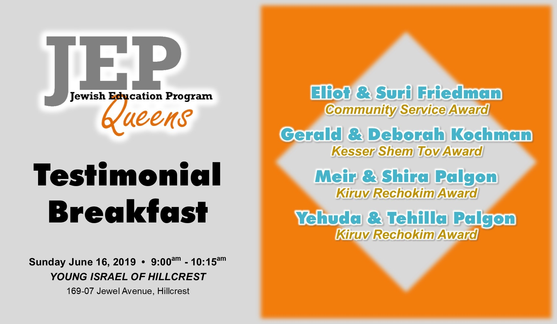 JEP Breakfast Invitation